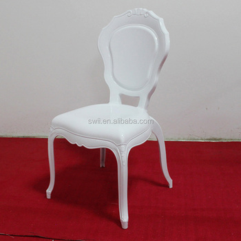 plastic resin chairs club chair covers for sale luxury fancy white wedding belle epoque princess manufacturer
