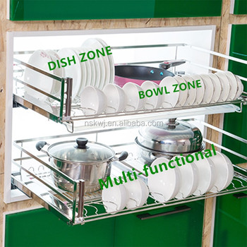 storage cabinets kitchen rectangular table flat steel cabinet rack pull out dish for