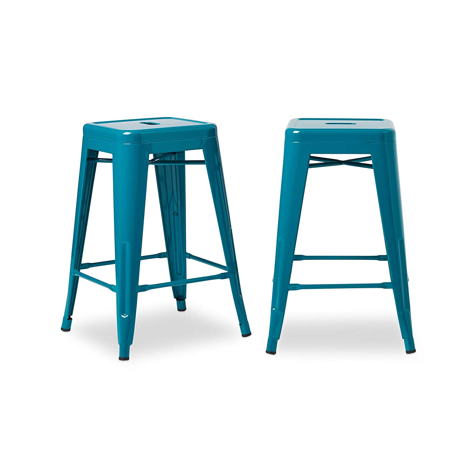 24 inch counter chairs blue wedding chair sashes cheap stools find deals on get quotations svitlife tabouret peacock set of 2 stool bar
