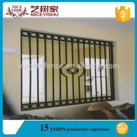 Wrought Iron Window Grill Design For Safety/china Cheap