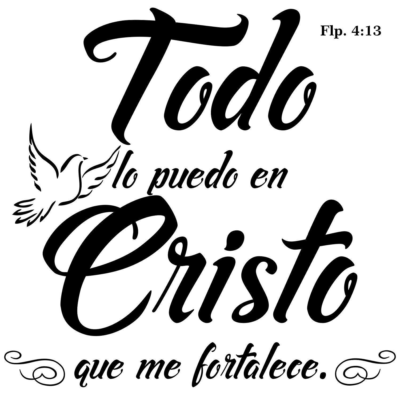 Buy Todo lo puedo en Cristo que me fortalece. Filipenses 4