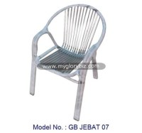 Stainless Steel Garden Armchair In Modern Design,Modern ...