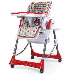 High Chairs On Sale Fabric Dining Side Buy Hot Four Wheels Approved Baby Chair Folded Feeding Cadeiras Suit For 0 4 Years Old Babyweight 10 Kg In Cheap Price Alibaba Com