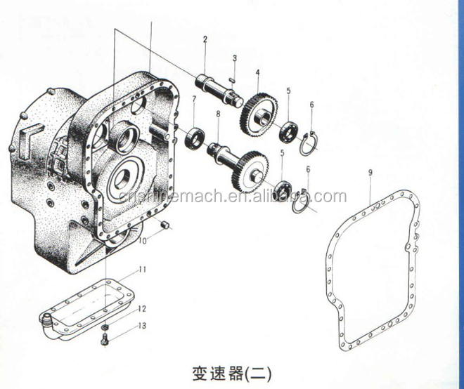 ZF sealing ring 0734401078 ZF transmission parts for zf