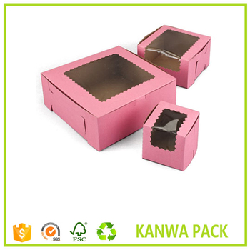 Wholesale Eco Friendly Custom Printed Bakery Boxes With Window Buy