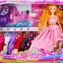 Dress Up Doll Kit Games For Girls Barbie Doll Beautiful