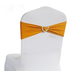 Yellow Spandex Chair Sashes Heavy Duty Resin Adirondack Chairs Cheap Jacquard Elastic Band Find Get Quotations Free Shipping 200pcs Gold Lycra Sash Stretch With Heart