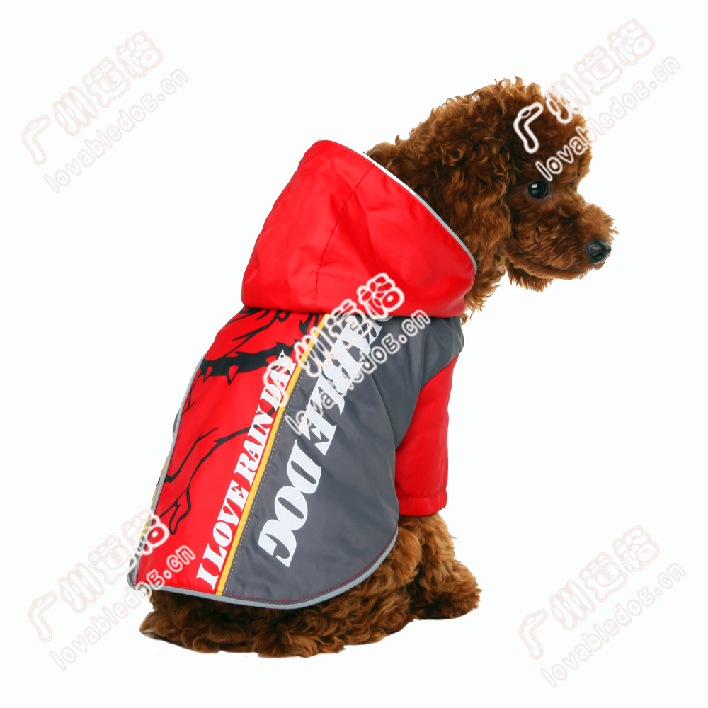 New Dog Accessories Pet Products Bully Pitbull Raincoat