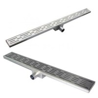 Bathroom Long Stainless Steel Floor Drain Shower Drain ...