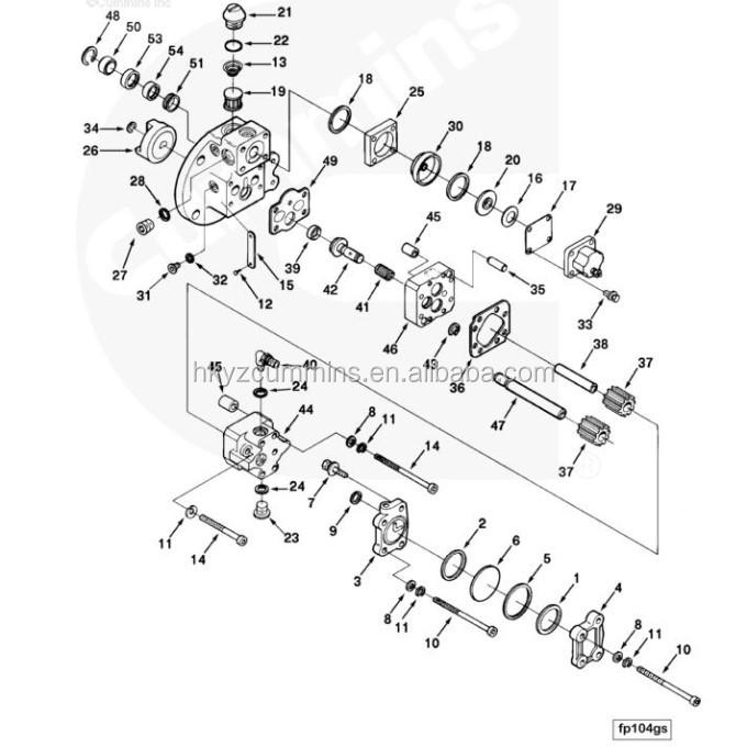 Ccec Chongqing 3095356 Shaft Fuel Pump Drive Kta19 Spare