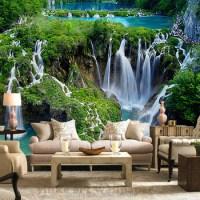 Custom Printed 3d Wall Mural Wallpaper Nature Landscape ...