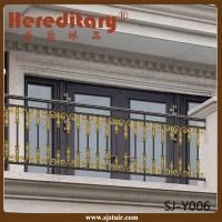 Prefabricated Aluminum Balcony Handrail Fence/balcony ...