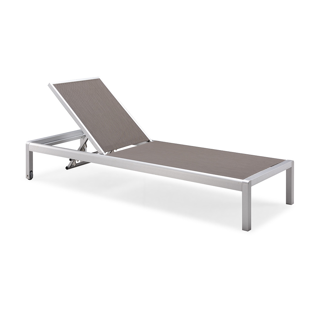 Lounge Chair Patio Garden Aluminum Deck Chair Patio Furniture Sling Beach Sun Lounge View Cheap Chaise Lounge Chairs Indoors Leisure Touch Product Details From Foshan