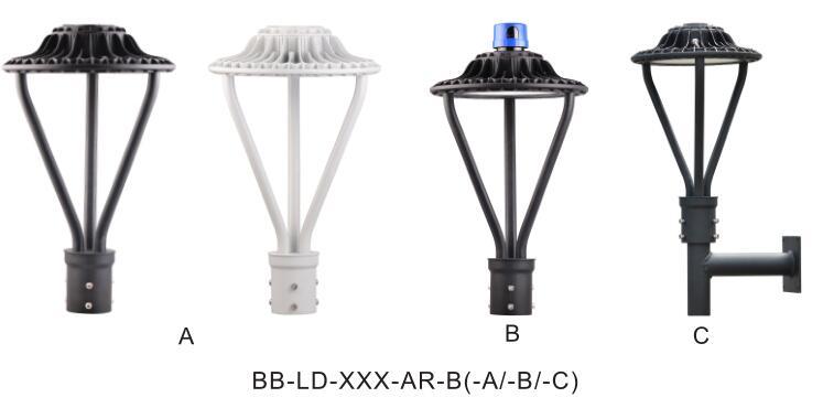 Hot Selling Outdoor 30w Led Garden Light Fixture Bollard