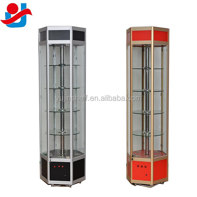 etagere de presentation rotative electrique avec roulettes appareil pour pied au sol en verre buy presentoir rotatif presentoir rotatif