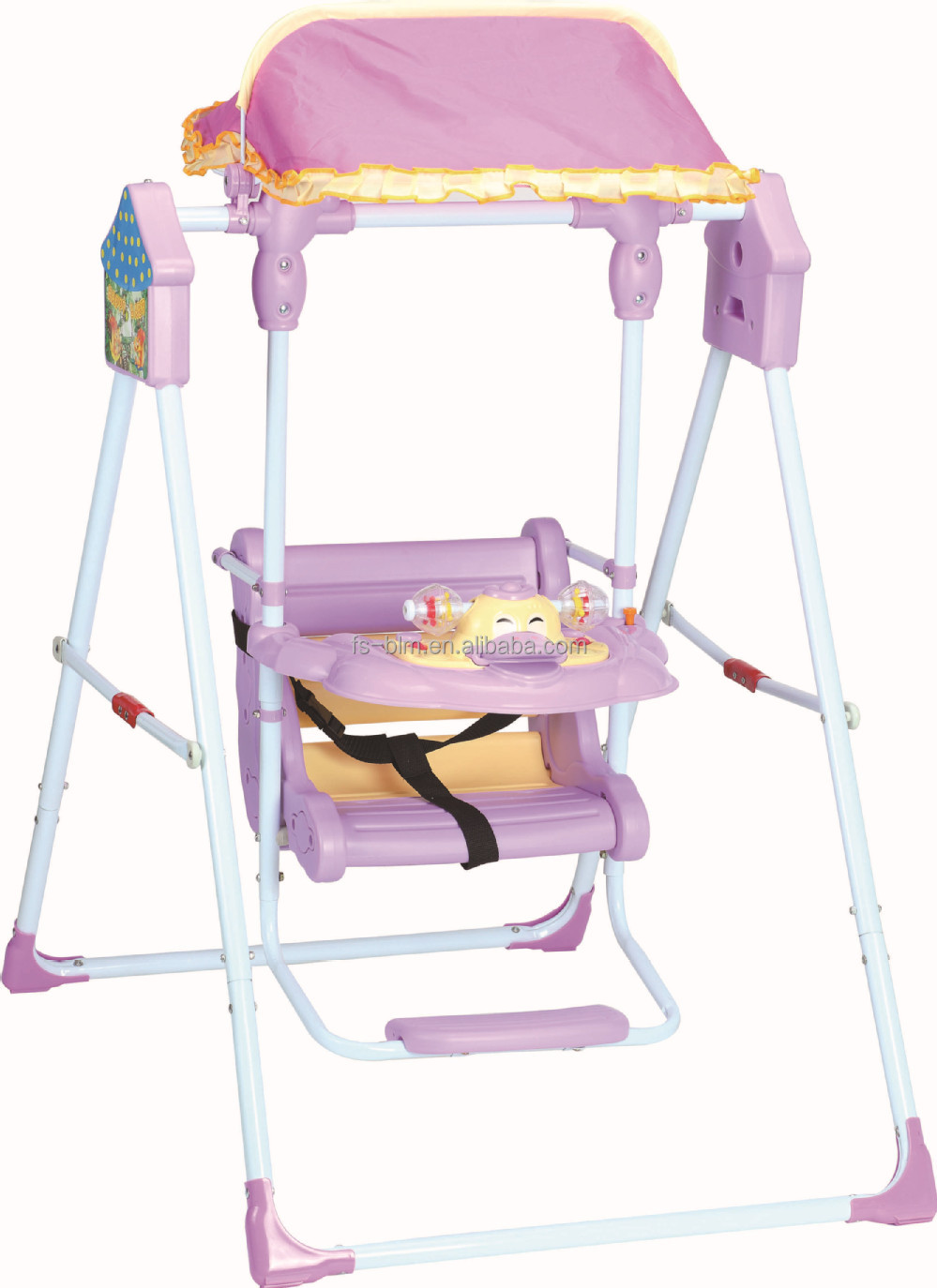 medium resolution of new hot sale out door baby swing with harness 106