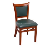 Wood Restaurant Ergonomic Dining Chairs