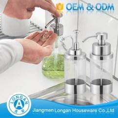 Kitchen Hand Soap Tiles Size Oem Custom 30g Stainless Steel 304 Glass Bottles Power Sprayer Foam Dispenser