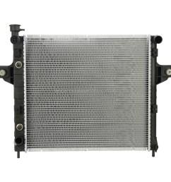 jeep xj radiator [ 1000 x 1000 Pixel ]