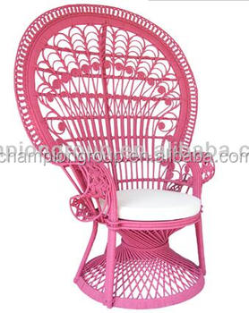 rattan peacock chair big lots recliner covers wr 6900 real round bright colors available