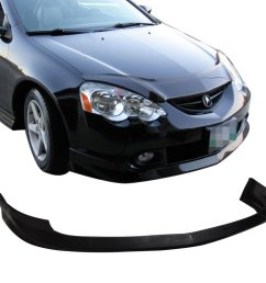 get quotations 2002 2004 acura rsx dc5 jdm a spec front bumper lip spoiler body kit [ 1000 x 1000 Pixel ]