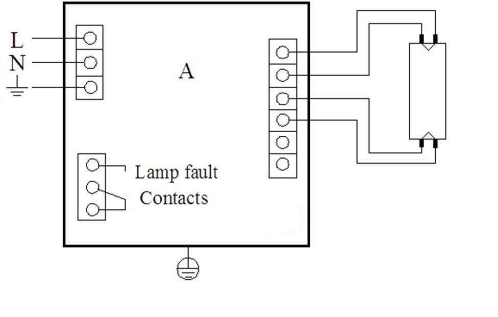 55W Ballast for UV Lamp