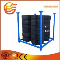 American Type Portable Foldable Metal Tire Storage Rack ...