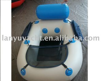 fishing inflatable chair /pvc boat, View fishing chair