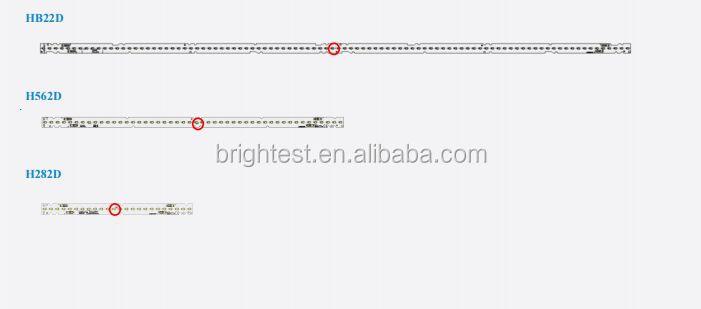 4ft Led Grow Bar Light Samsung Lm561c Lm301b Lm301h Top