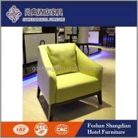 Modern Fancy Wood Furniture Arm Chair Club Chairs Hotel ...