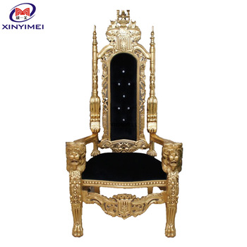 alibaba royal chairs formal living room accent china king queen chair for wholesale