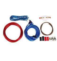 get quotations bunner 1 set car audio connected 8 gauge amp wire wiring amplifier subwoofer speaker [ 1115 x 1115 Pixel ]