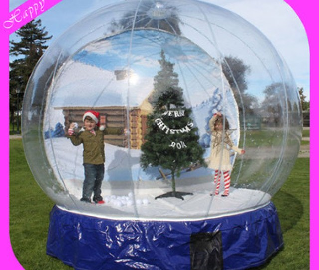 Outdoor Promotion Christmas Giant Inflatable Human Cheap Snow Globe For Taking Photo Buy Cheap Snow Globechristmas Snow Globegiant Inflatable Snow Globe