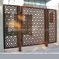 Cheap Outdoor Exterior Decorative Laser Cut Metal Screens
