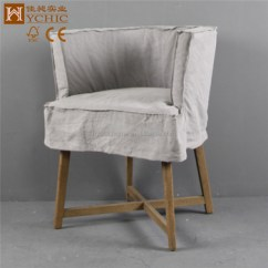 Half Circle Chair Cover Hire Rugeley French Round Cross Leg Fabric Wooden Dining Buy