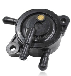 get quotations black fuel pump replacement briggs stratton 491922 808656 25 hp engines for honda [ 1000 x 1000 Pixel ]