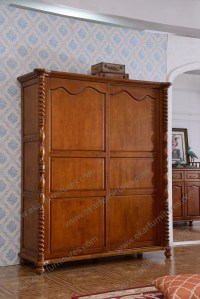 Living Room Furniture Antique French Armoire / Wooden ...