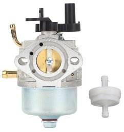 get quotations hilom 801396 carburetor with fuel filter for briggs stratton 801233 801255 snow blower thrower toro [ 1000 x 1000 Pixel ]