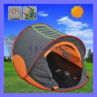 22w Camping Orange Solar Power Tent For Sale