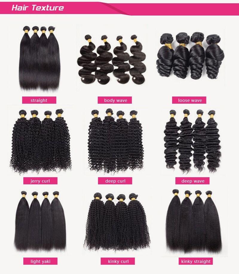 Natual Color Remy Brazilian Virgin 8a Grade Brazilian Hair
