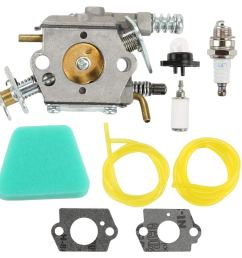 get quotations butom 545081885 carburetor with air filter tune up kit for craftsman 358351143 944414430 358351142 358350563 358360131 [ 1000 x 1000 Pixel ]