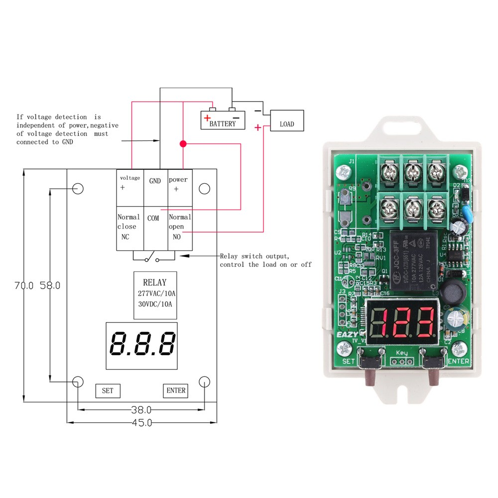 medium resolution of iv u3 12 v 24 vdc voltage digital control relay switch over