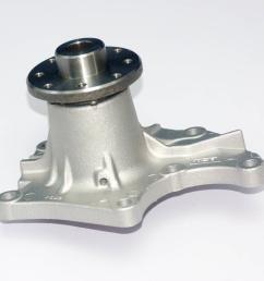 water pump fits isuzu 4ja1 4jb1 4jb1t 4jg1 4jg2 bobcat 843 853 [ 1000 x 1000 Pixel ]