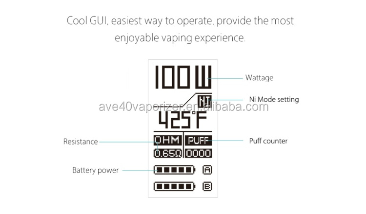 2017 Latest Vape Ijoy Genie Pd270 Kit 4ml Capacity 100%