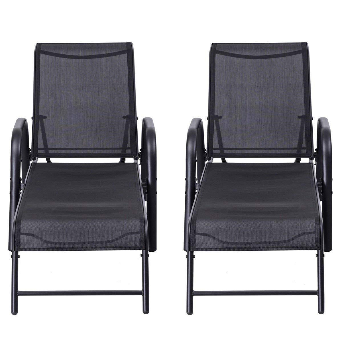 what are pool chairs made out of tatamia high chair cheap chaise find deals on line at kchex set 2 patio lounge sling lounges recliner adjustable back new