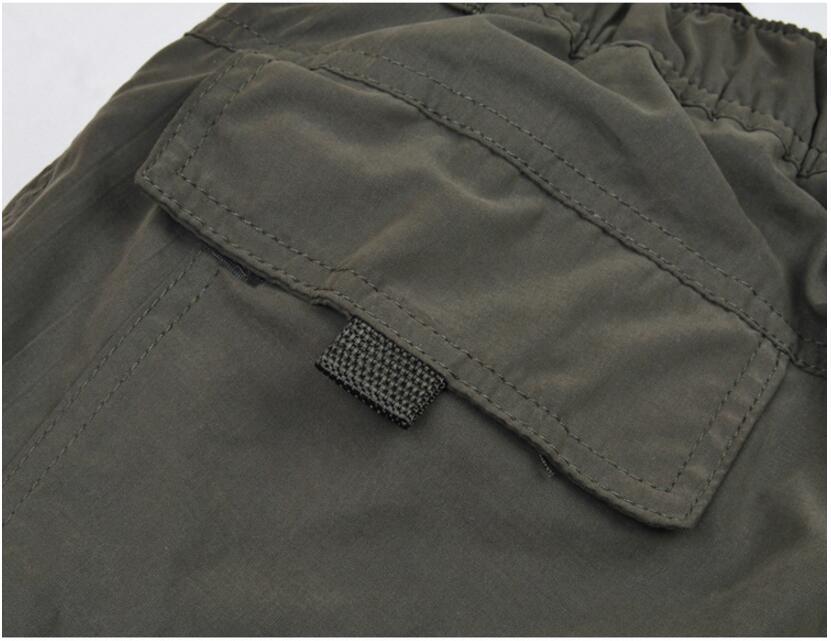 Men's Cargo Pants 2019 Winter Casual Warm Thicken Fleece Pants Men Cotton Multi Pockets Combat Military Baggy Tactical Pants 53