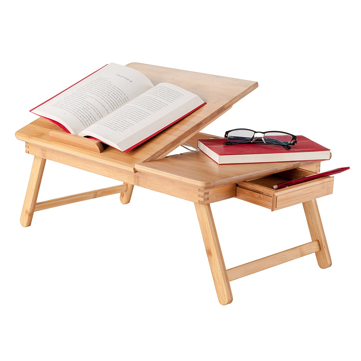 My Bamboo Folding Lap Desk Table Tray Laptop Books Snack Breakfast In Bed Serving Buy Bamboo Folding Lap Desk Table Tray Laptop Books Snack Breakfast In Bed Serving Laptop Bamboo Computer Lap