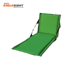Inflatable Camping Chair Yellow Recliner Self Pad