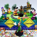 Buy Mickey Mouse Clubhouse Mickey And The Roadster Racers Birthday Cake Topper Set Featuring Figures And Decorative Accessories In Cheap Price On Alibaba Com