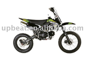 125cc Dirt Bike(kawasaki Design,Monster Sticker,17/14 Big